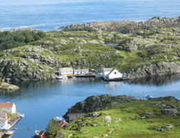Røver Fjordbruk AS hovedbase Ishuset